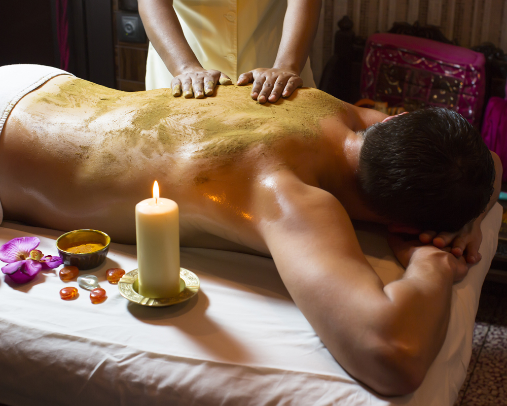 Man Having Massage